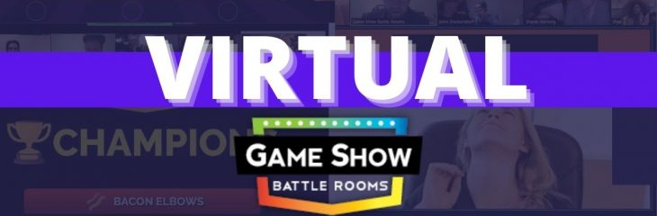 Virtual Game Show Battle Rooms